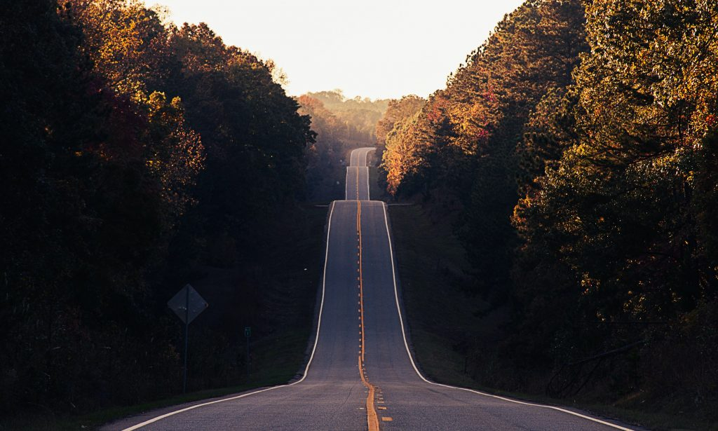 road stretching into the distance