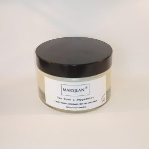 Organic Macadamia Foot And Ankle Tea Tree Peppermint Balm With Extra Vitamin E 200G