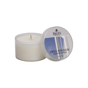 Price's Tin Scented Candle Open Window