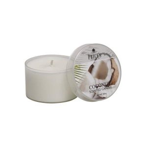 Price's Tin Scented Candle Coconut Scent